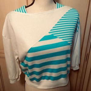 Totally 80's crop top size S